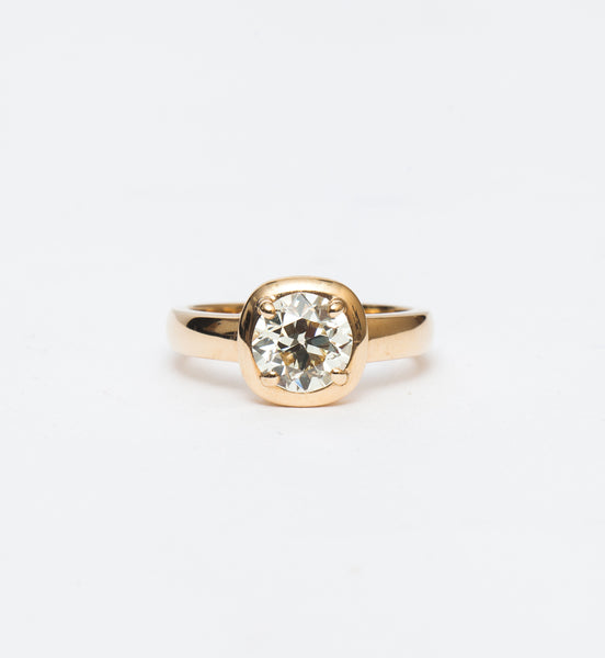 Cori Solitaire Ring