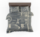 Airplanes Fuselage & Details Designed Bedding Sets