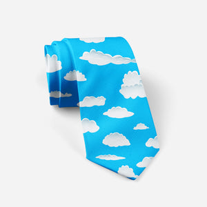 Amazing Clouds Designed Ties