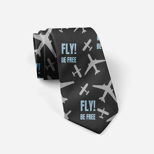 Fly Be Free! Designed Ties