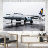 Lufthansa's A320 Neo Printed Canvas Posters (1 Piece) Aviation Shop