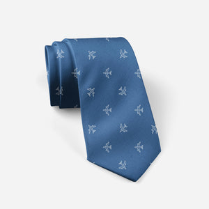 Nice Airplanes (Blue) Designed Ties