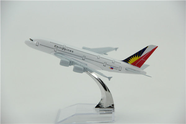 Philippines Airbus A380 Airplane Model (16CM)