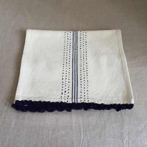 TABLE RUNNER BLUE BIG/CHEMIN TABLE BLEU BIG