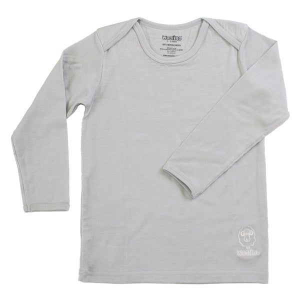 Shirt, Long-sleeve, Merino Wool, Gray