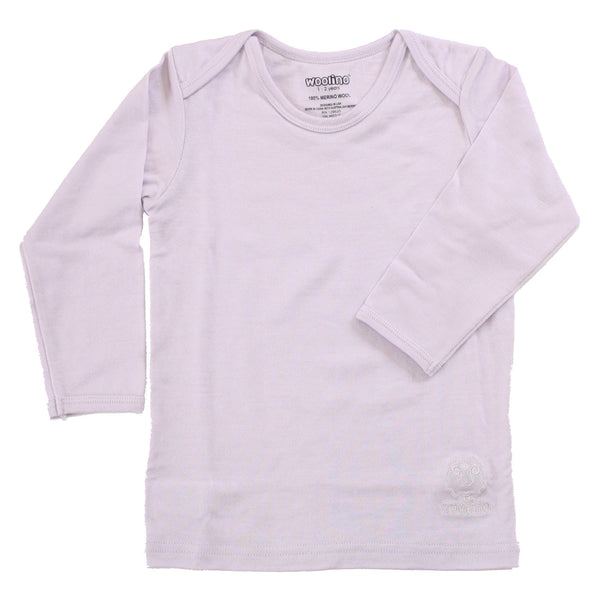 Shirt, Long-sleeve, Merino Wool, Lilac