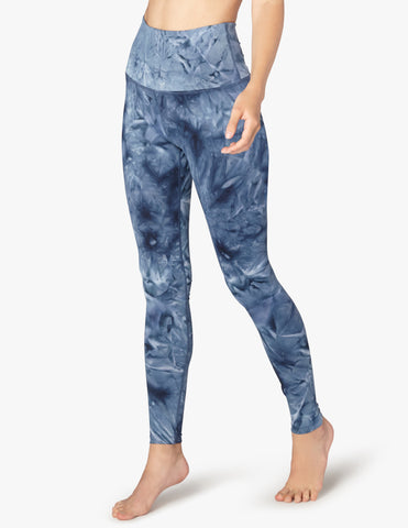 Smokeshow high waisted leggings in outlaw navy smoke