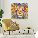 Canvas Print of 'Lion'