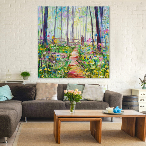 Canvas Print of 'Glade'