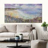 Canvas Print of 'Gentle Waves'