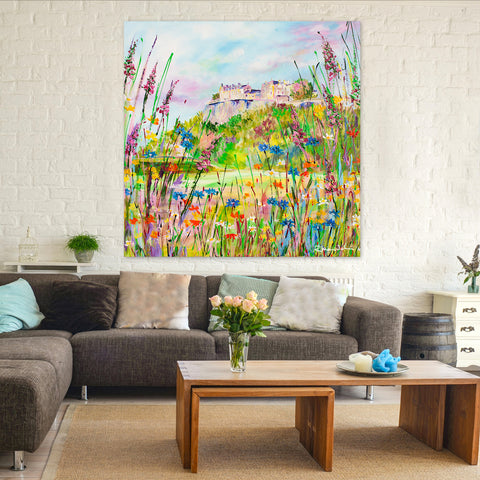 Canvas Print of 'Stirling Castle'