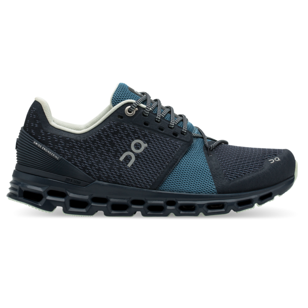 Women's On Cloudstratus Running Shoes - Navy/Dust