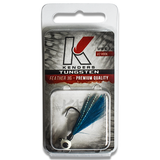BLUE TUNGSTEN FEATHER JIG - Kenders Outdoors