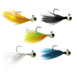 TUNGSTEN FEATHER JIGS (5 PACK) - Kenders Outdoors