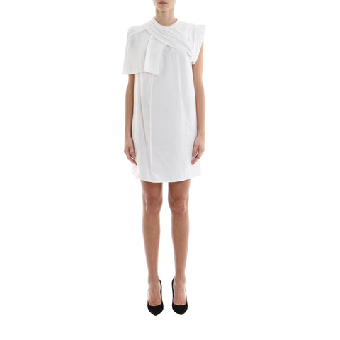 Rick Owens Shoulder Draped Mini Dress