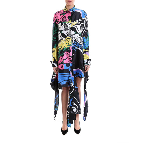 JW Anderson Foxglove Print Shirt Dress