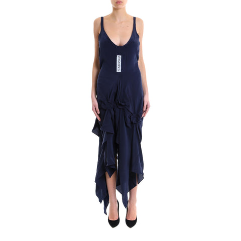 JW Anderson Draped Silk Dress