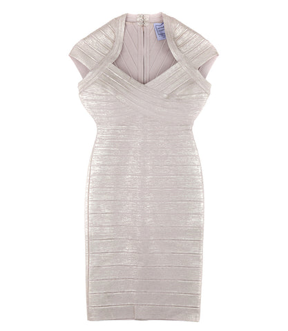 Herve Leger 'Tejana' Cocktail Dress