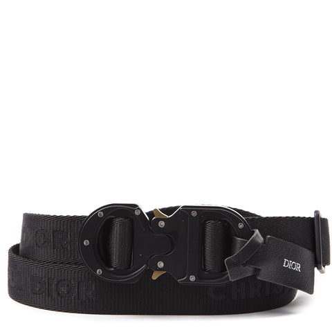 Dior Homme Buckled Logo Belt