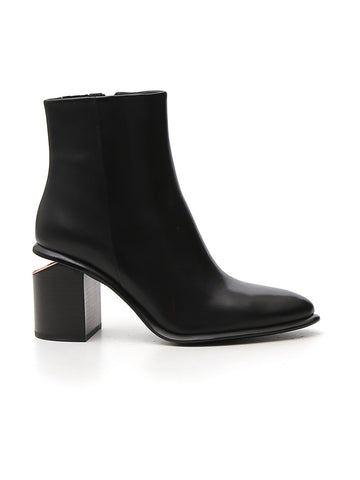 Alexander Wang Anna Cut Out Heel Ankle Boots
