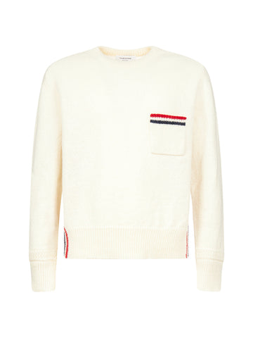 Thom Browne Striped Pocket Pullover