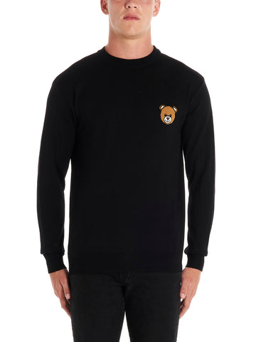 Moschino Teddy Bear Knit Pullover