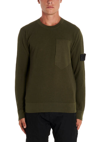 Stone Island Shadow Project Logo Patch Sweater