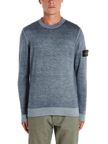 Stone Island Shadow Project Logo Patch Knitted Sweatshirt