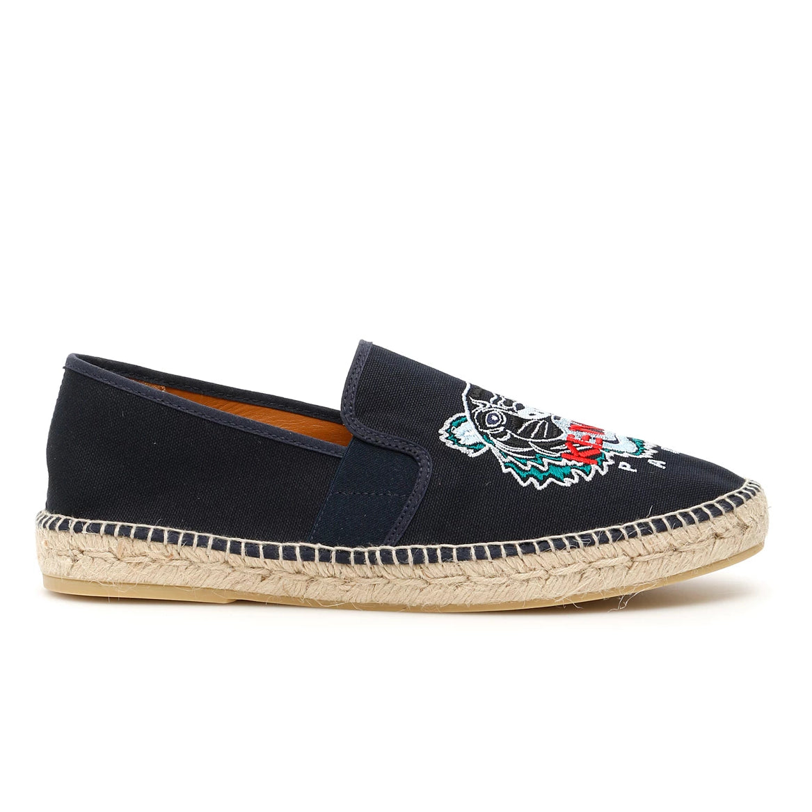 Kenzo Shoes KENZO TIGER EMBROIDERED ESPADRILLES