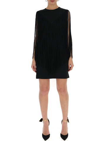 Stella McCartney Fringe Detail Mini Dress