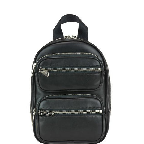 Alexander Wang Front Pocket Double Zipped Backpack