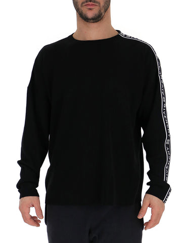 Givenchy Logo Side Band Knitted Sweater