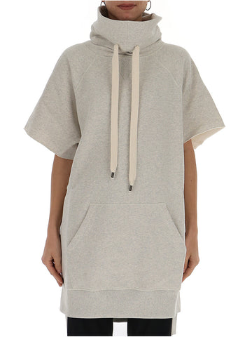 Philosophy Di Lorenzo Serafini High Neck Sweatshirt Dress