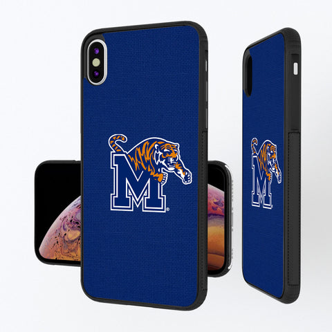 Memphis Tigers Solid iPhone XS Max Bump Case