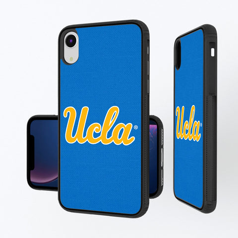 UCLA Bruins Solid iPhone XR Bump Case
