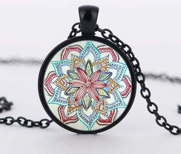 Flower Mandala Necklace