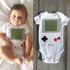 Gameboy romper - Your Baby's Closet