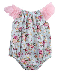Flower Romper - Your Baby's Closet
