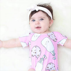 Cookie And Milk Romper - Your Baby's Closet