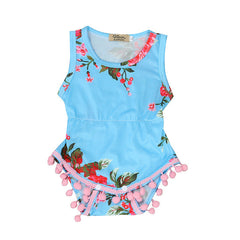 Summer Shorts Sleeve Jumpsuit - Your Baby's Closet