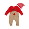 Christmas Jumpsuit Set - Your Baby's Closet