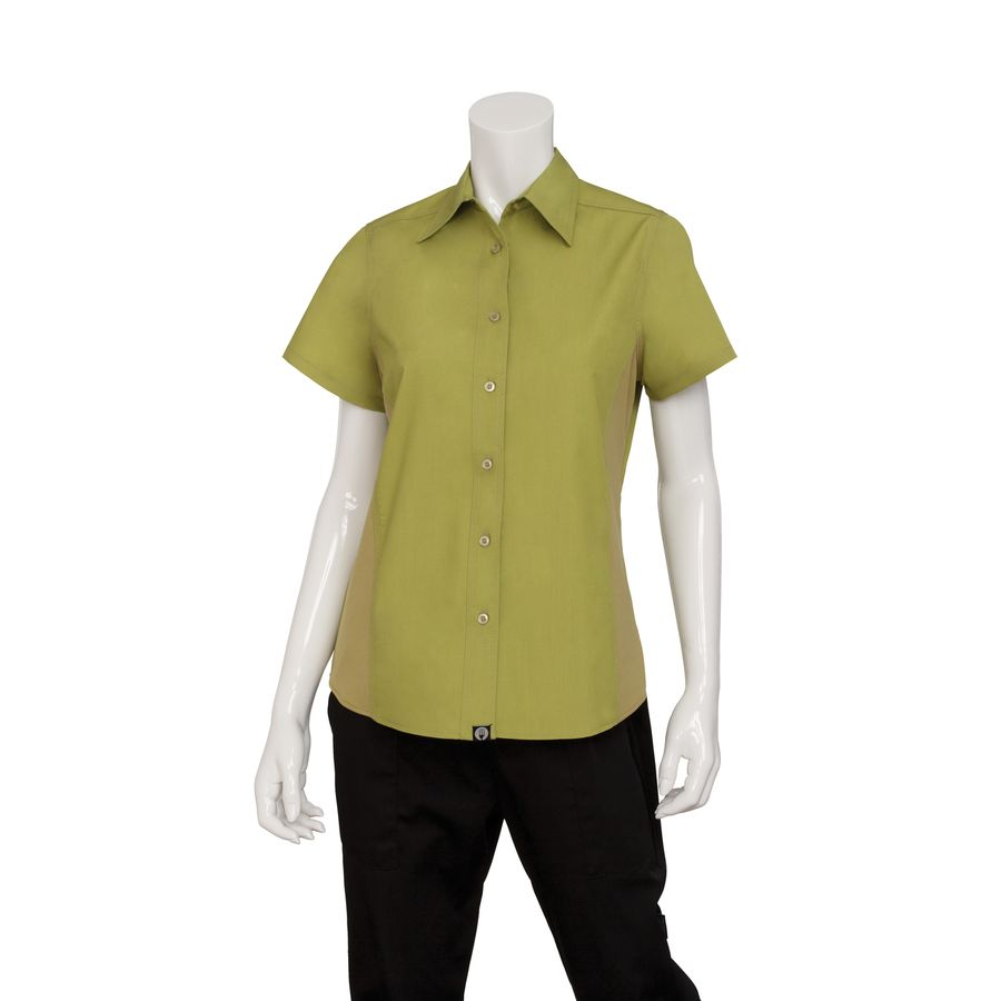 Female Lime Universal Contrast Shirt
