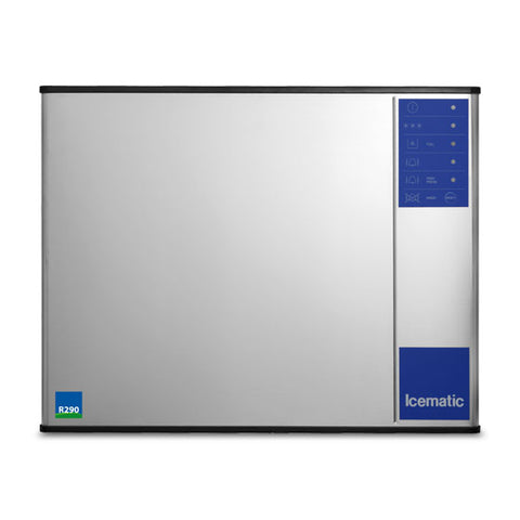 ICEMATIC High Production Large Dice Ice Machine ML205-A ECO