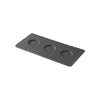 Revol REVOL BASALT TRAY WITH 3 WELLS 250x120mm