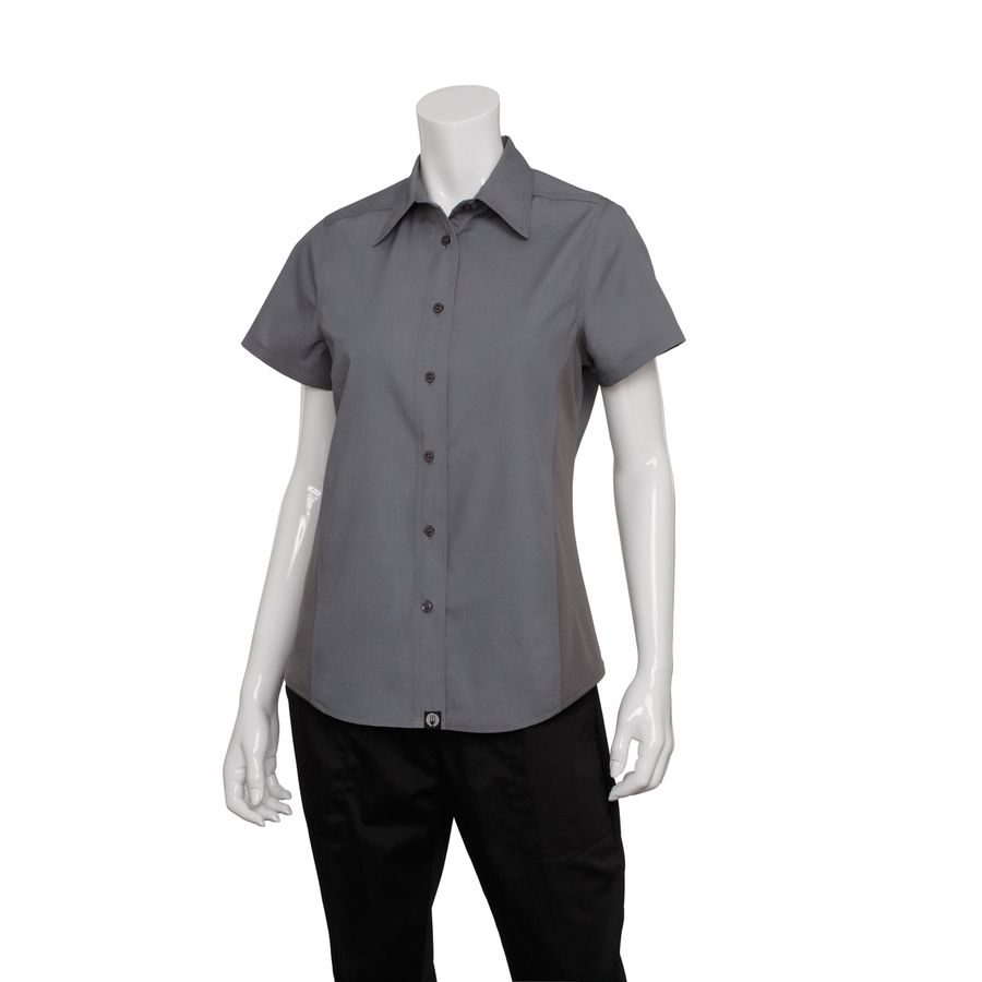 Female Grey Universal Contrast Shirt