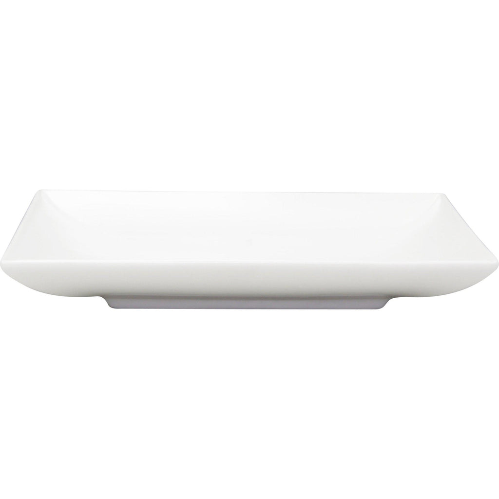 Rene Ozorio SQUARE PLATE 170x170mm AURA, MATT WHITE (494017)