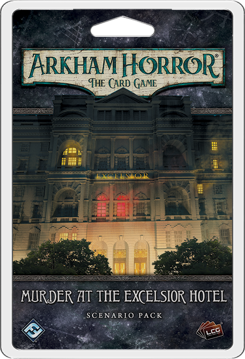 Arkham Horror LCG: Murder at the Excelsior Hotel Scenario Pack (Pre-Order)