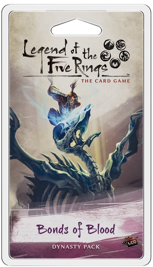 Legend of the Five Rings LCG: Bonds of Blood - Dynasty Pack (Pre-Order)