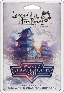 Legend of the Five Rings LCG: Winter Court 2018 World Championship Deck (Pre-Order)