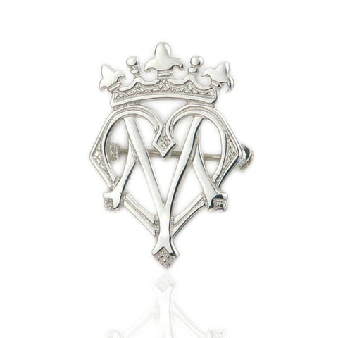 Luckenbooth Brooch In Silver